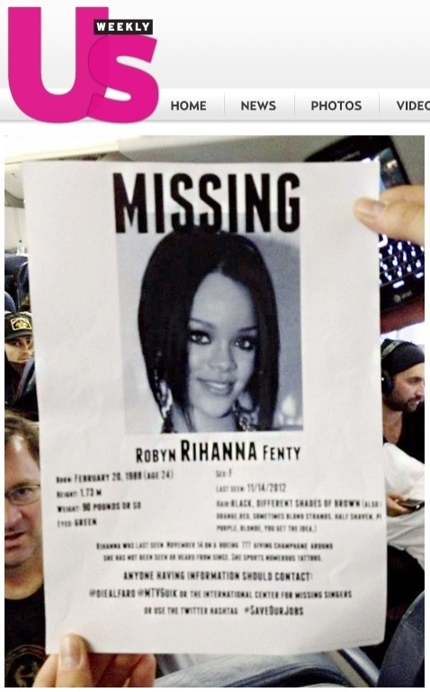 Rihanna quer repetir experiência da turnê