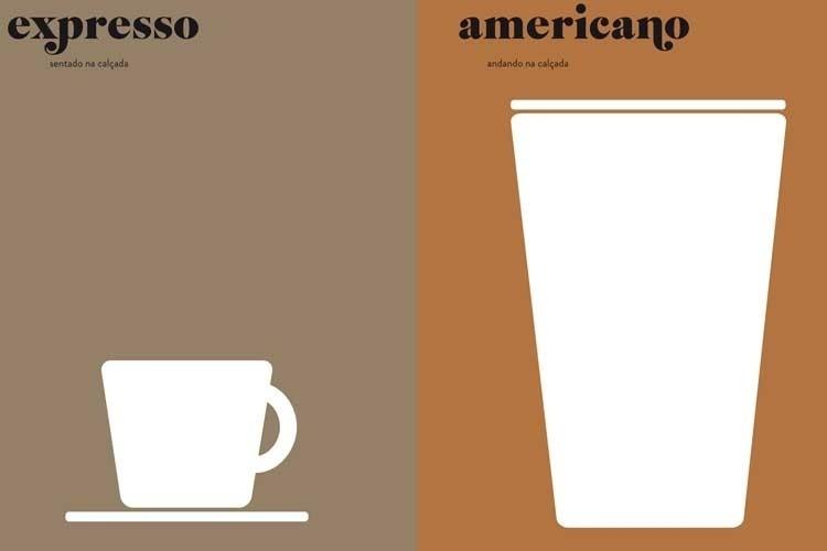 Copo Americano Grande Nada Como um Grande Copo