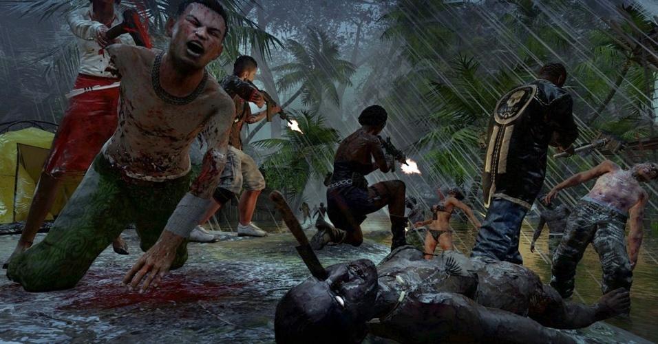 """A luta pela sobrevivência numa ilha paradisíaca - não estivesse ela infestada por zumbis - continua em """"Dead Island: Riptide"""""""