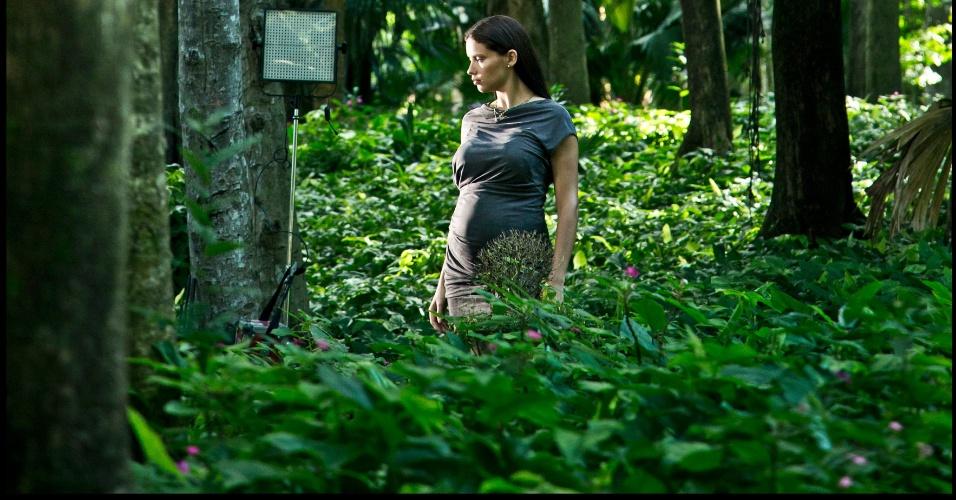 A modelo Adriana Lima foi uma das retratadas por Steve McCurry para o Calendário Pirelli 2013 (22/11/12)