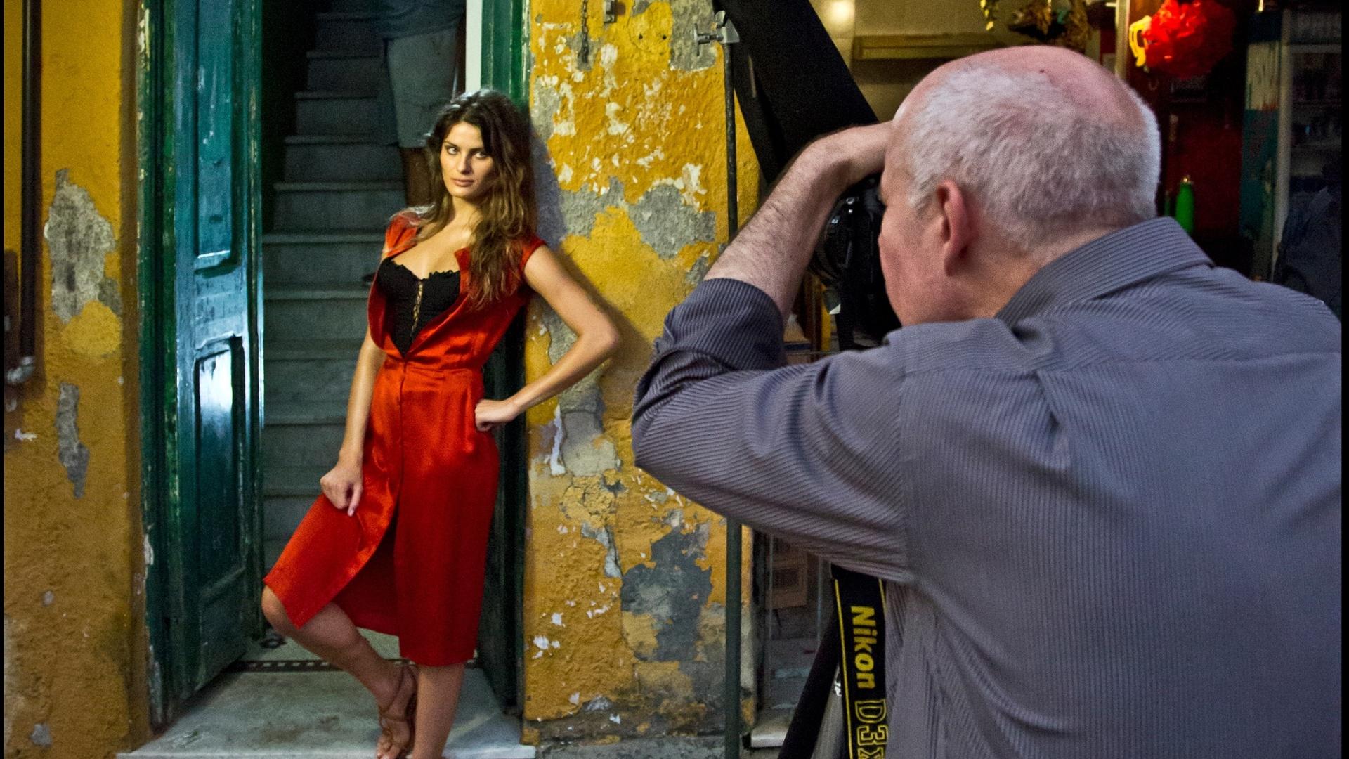 A modelo Isabeli Fontana foi uma das retratadas por Steve McCurry para o Calendário Pirelli 2013 (22/11/12)
