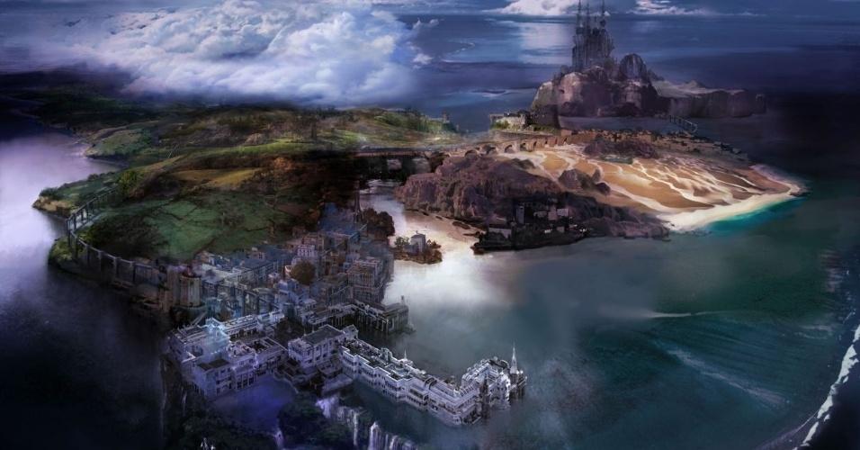 """A protagonista forte da série """"Final Fantasy"""" volta em """"Lightning Returns: FFXIII"""" com a missão de salvar o mundo em apenas 13 dias"""