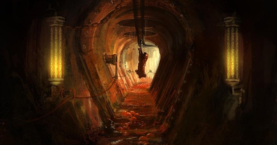 """""""Amnesia: The Dark Descent"""" é considerado um dos games mais aterrorizante dos últimos anos e """"Machine for Pigs"""" pretende manter a tensão"""