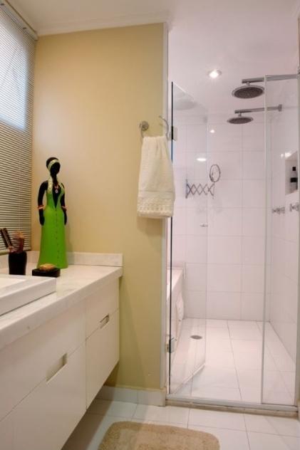 Banheiros Pequenos Com Banheira  Super Hot Mobile -> Sugestoes Banheiro Pequeno