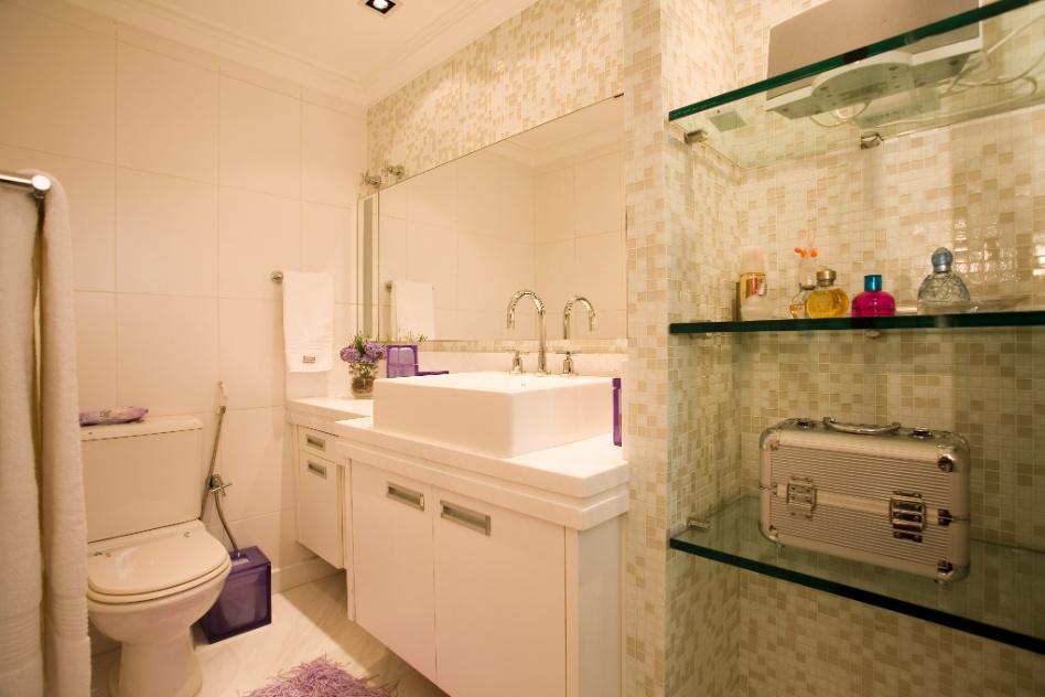 banheiro com pastilha rosa banheiro decorado com faixas banheiro Car Tuning -> Decoracao De Banheiros Com Artesanato