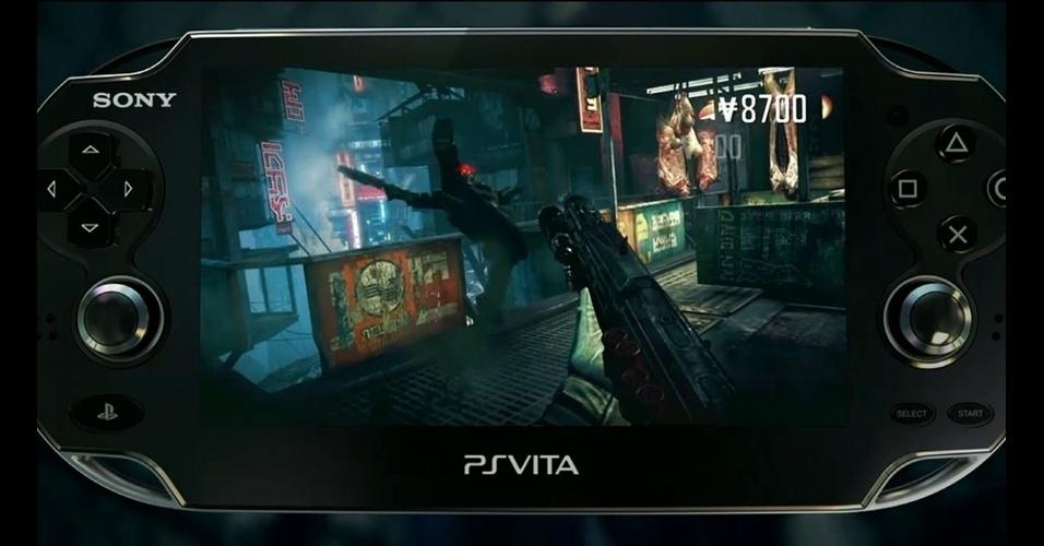 """Com motor gráfico de """"Killzone 3"""", """"Killzone: Mercenary"""" virá com a promessa de boas doses de ação no PS Vita"""