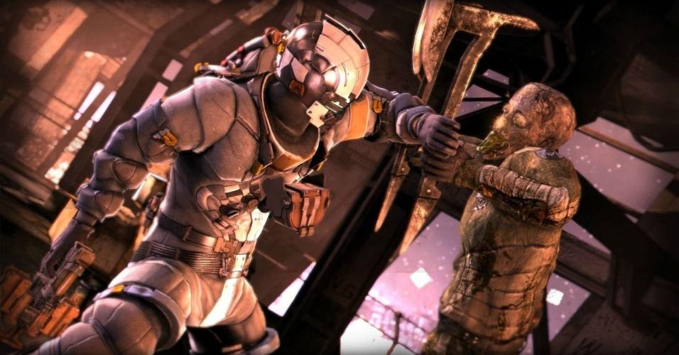 """Com muita ação, multiplayer cooperativo e um novo planeta, """"Dead Space 3"""" busca renovar a série da Electronic Arts"""