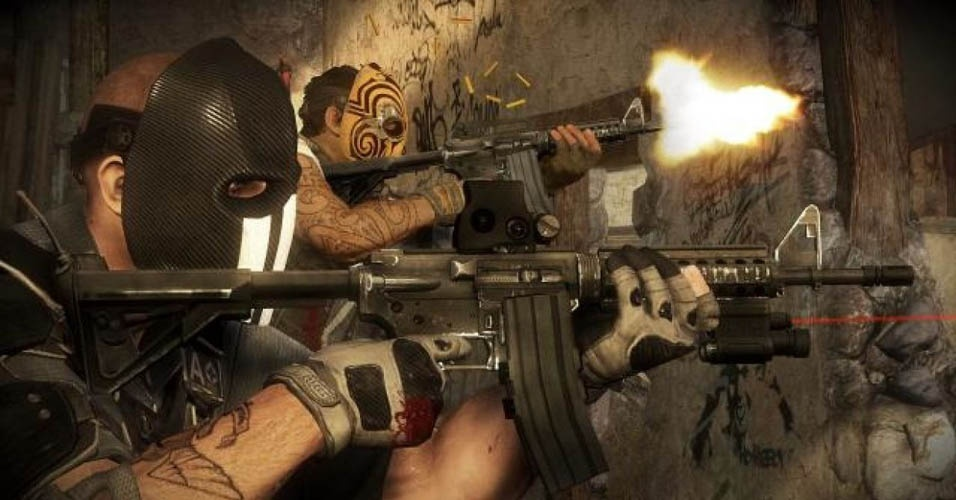 """Com uma nova dupla de mercenários, """"Army of Two: The Devil's Cartel"""" tenta se mostrar o jogo mais maduro da franquia de tiro da EA"""