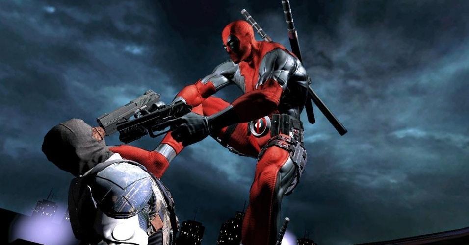 """""""Deadpool"""" é a primeira aventura estrelada pelO antiherói tagarela e violento da Marvel Comics"""