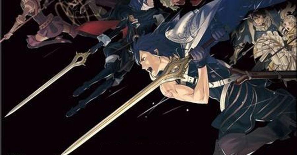 """Em """"Fire Emblem: Awakening"""" o jogador poderá fazer ataques combinados de personagens para criar golpes devastadores"""