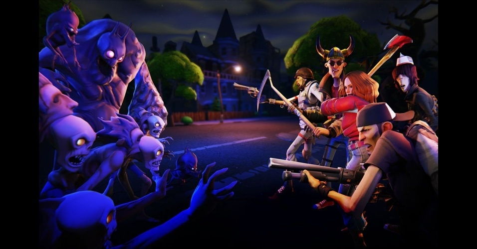 "Exclusivo para PC, ""Fortnite"" irá mostrar o poder do novo motor gráfico Unreal Engine 4"