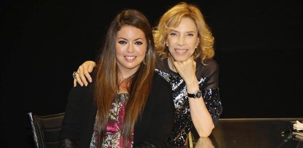 """Fluvia Lacerda no programa  """"De Frente Com Gabi"""", que vai ao ar no dia 25 de novembro de 2012"""