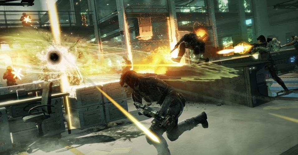 """""""Fuse"""" é o 1º projeto da Insomniac Games que não será exclusivo da Sony e trata-se de um jogo de ação com elementos cooperativos"""