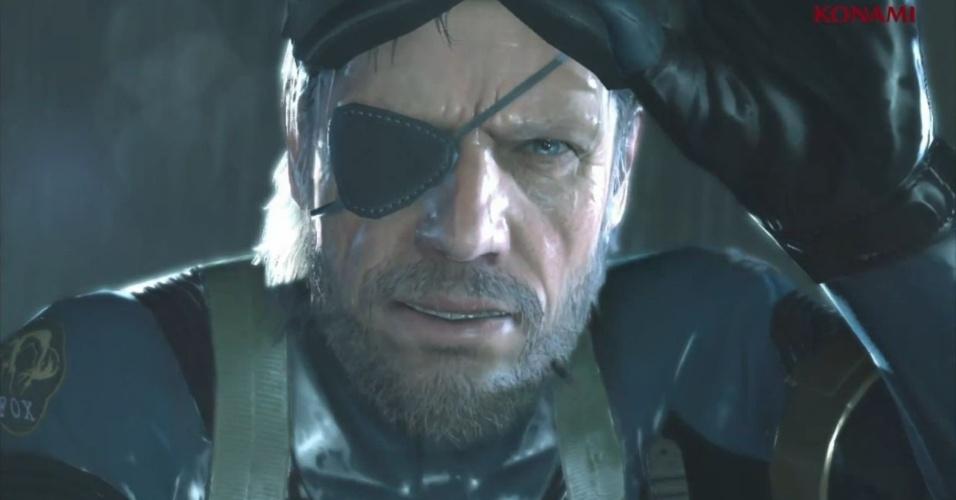 """Mundo aberto e uma nova engine gráfica são as apostas de """"Metal Gear Solid: Ground Zeroes"""", que traz de volta Big Boss como herói"""