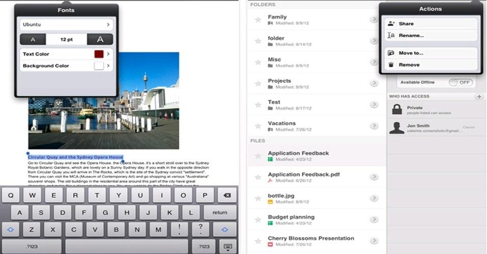 """O armazenamento na nuvem permite que o usuário tenha dados importantes disponíveis a qualquer momento, basta ter um computador conectado à internet. Se você estiver na rua, basta utilizar aplicativos que realizam essa tarefa nos smartphones. Clique em """"Mais"""" e veja algumas sugestões desses apps"""