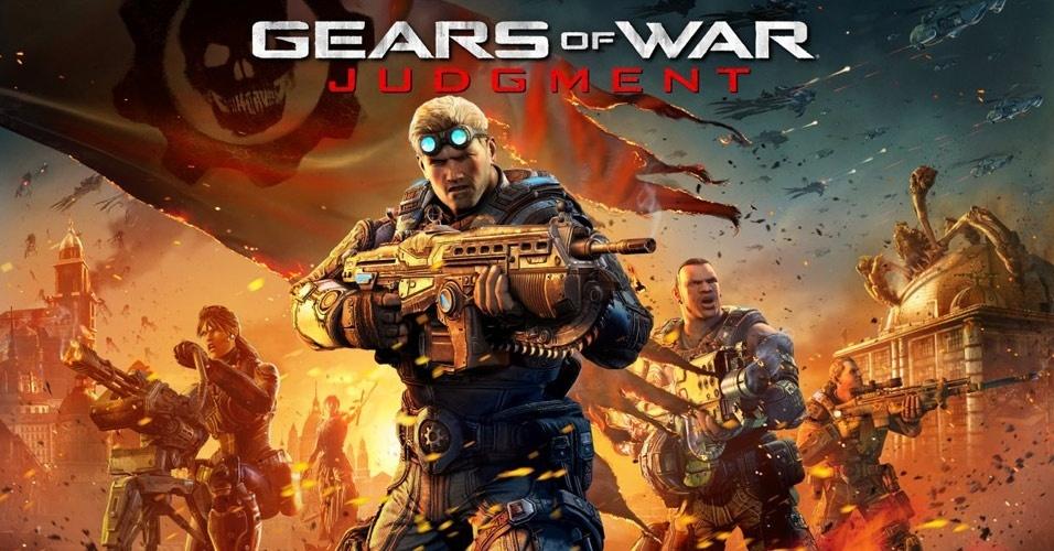 """Próximo """"Gears of War"""", """"Judgment"""" volta ao passado para mostrar o início da invasão Locust"""