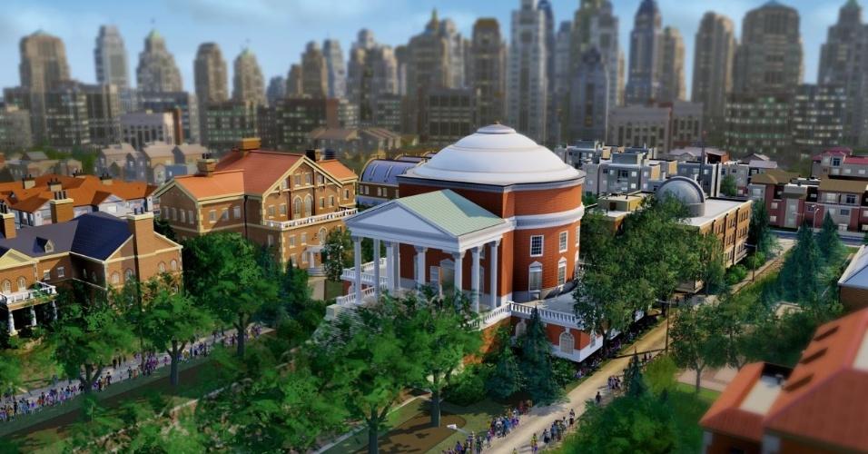 """""""SimCity"""" está de volta com visual cheio de detalhes, multiplayer online e uma temática ecologicamente correta"""