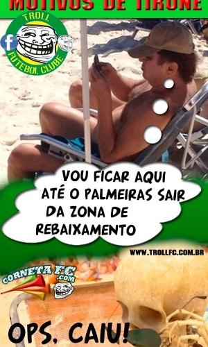 Corneta FC: Tirone explica que achou que ficaria menos tempo na praia