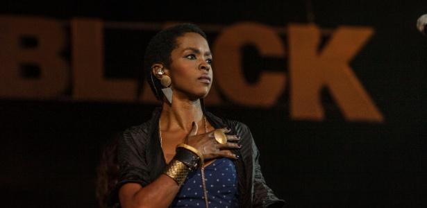 Lauryn Hill se apresenta no festival Back2Black, Estação Leopoldina, no Rio de Janeiro (23/11/12)