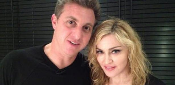 Luciano Huck entrevista Madonna em Miami