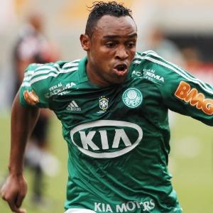 Obina participou da campanha que rebaixou o Palmeiras para a Série B do Brasileiro