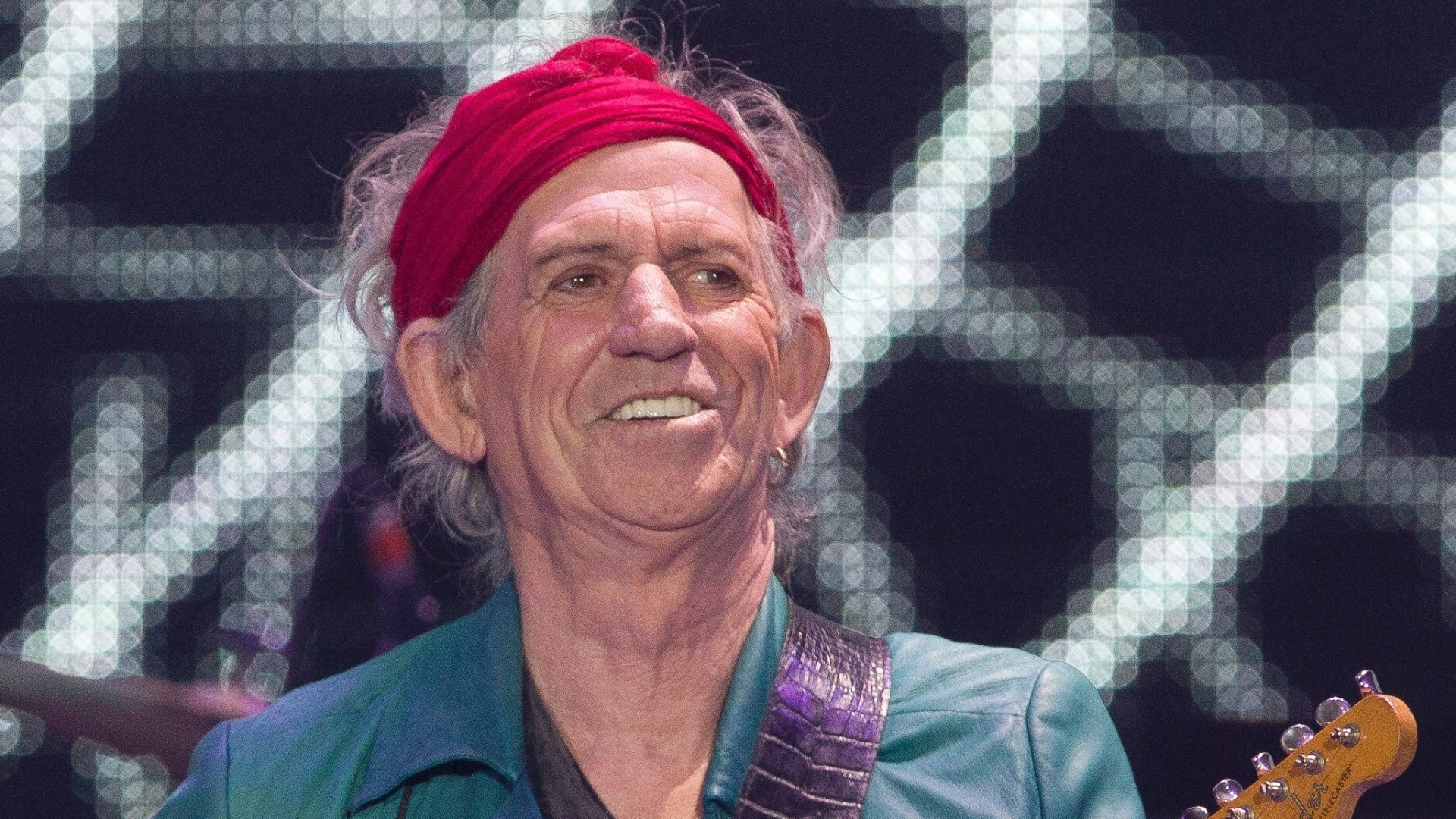  Keith Richards se apresenta na O2 Arena em Londres, no show de retorno dos Rolling Stones (25/11/12)