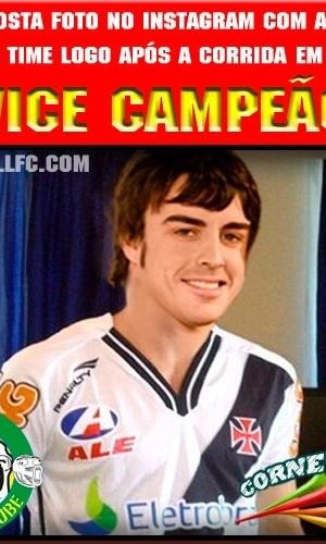 Corneta FC: Após o vice, Alonso ganha nova camisa