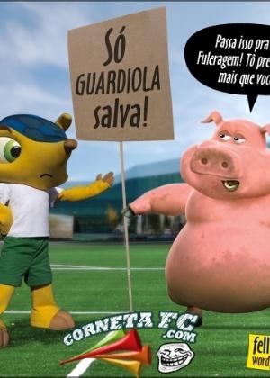Corneta FC: Guardiola já é disputado no Brasil