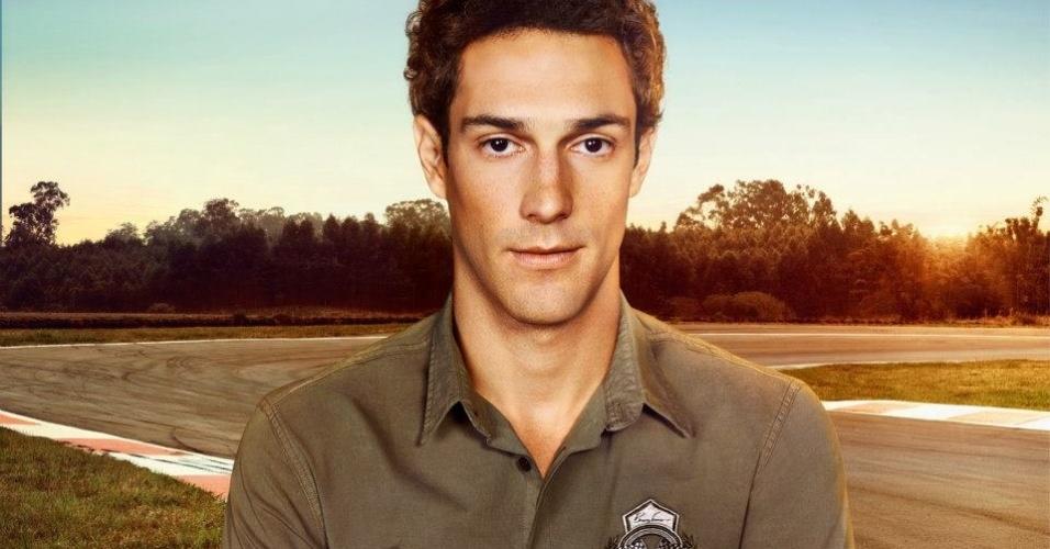 Nov.2012 - Segundo a grife, a Bruno Senna by Colcci tem inspiração no look do piloto e no universo da Fórmula 1