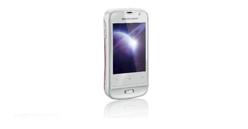 O smartphone Saturn da Multilaser possui tela de 2,8 polegadas, suporte para dois chips, câmera de 2 megapixels e preço sugerido de R$ 370. As fotos clicadas com o aparelho são de baixa qualidade e o touchscreen é ruim. O sistema de dois chips é bastante acessível