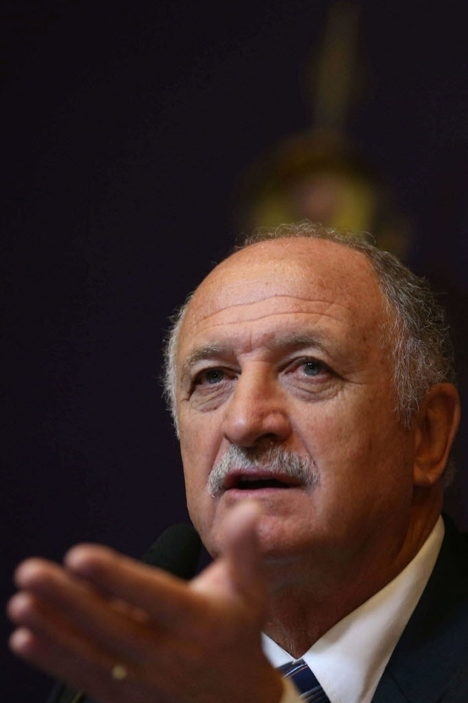 29.nov.2012 - Luiz Felipe Scolari concede entrevista coletiva no anncio de sua efetivao como tcnico da seleo brasileira no Rio de Janeiro