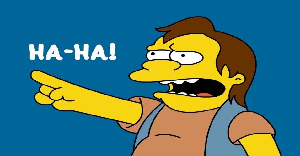 """Nem só de sites de serviços, redes sociais e notícias vive a internet. Também existe (muita) coisa inútil na rede. Na imagem, um site que reproduz o bordão do personagem Nelson de """"Os Simpsons"""""""