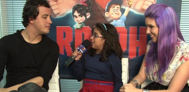 Em Detona Ralph, Rafael Cortez dubla o mocinho Felix e Marimoon faz a voz da pane Vanellope