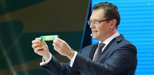 Jerome Valcke, secretário-geral da Fifa, será o responsável pela realização do sorteio da Copa do Mundo