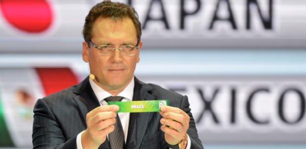 O sorteio dos jogos da Copa das Confederações aconteceu no sábado em São Paulo