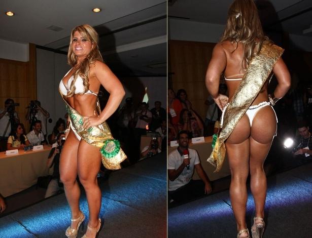 Carine Felizardo Miss Bumbum Brazil