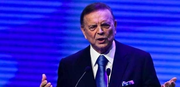 José Maria Marin, presidente da CBF: cartola diz não saber quem pediu a isenção fiscal (foto de 03.dez.2012)