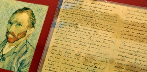 Carta assinada por Van Gogh é avaliada em US$ 630 milhões
