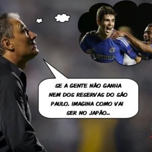 Corneta FC: Se foi assim contra time reserva, imagina no Mundial...
