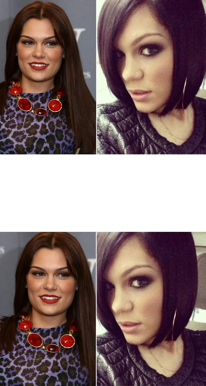 Jessie J cabelo curto