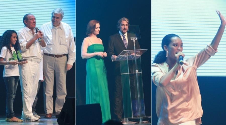 4.dez.2012 - Renato Aragão anunciou os novos projetos do