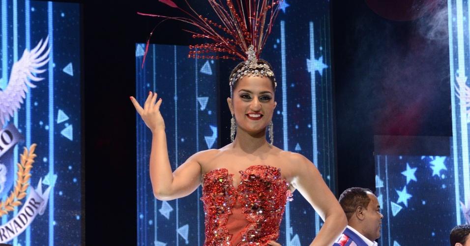 Bruna Bruno é a rainha de bateria da União da Ilha do Governador (4/12/12)