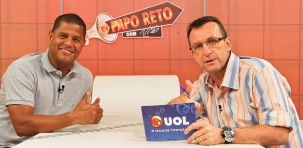 Marcelinho Carioca foi o convidado do Papo Reto, apresentado pelo ex-jogador Neto