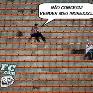 Corneta FC: Sem Fabuloso, ?modinhas? desistem de lotar Morumbi