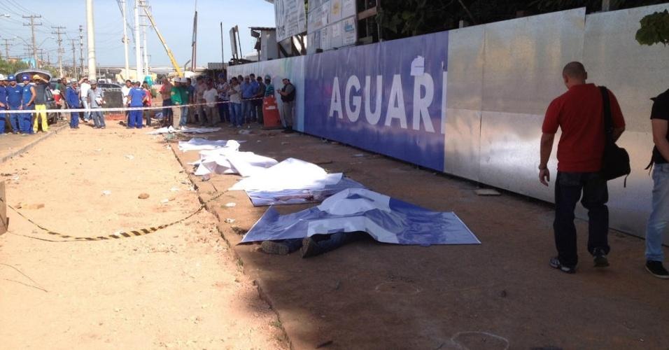 Homicídio próximo às obras da Arena do Grêmio nesta quinta-feira (06/12) em Porto Alegre