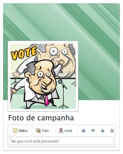 Foto de campanha (de um político ou movimento)