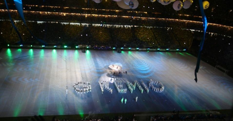 Abertura da Arena do Grêmio, inaugurado com 'abertura de Olimpíada Gaúcha'