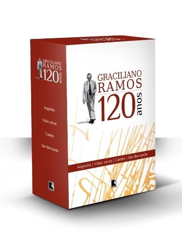 Graciliano Ramos 120 anos BOX, livro, natal