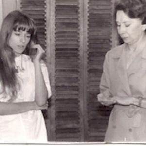 """Luciana Vendramini atua com Cleyde Yáconis na novela """"Vamp"""", de 1991 e 1992"""