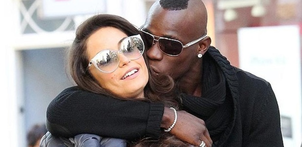 Balotelli rompeu laços com a modelo Raffaella Fico após o nascimento da filha Pia